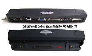 Dell Latitude LS Docking Station Model PRS P/N 8477T