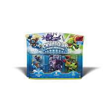 Skylanders Spyros Adventure Character 3 Pack   Lightning, Cynder, and
