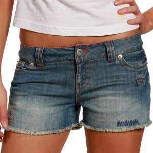 Alabama Crimson Tide Ladies Cut Off Denim Shorts