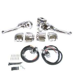 BKrider 9/16 Handlebar Control Kit for Harley Davidson Automotive