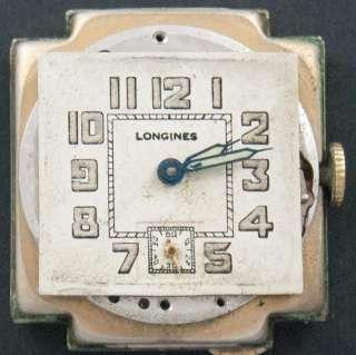 Vintage LONGINES Officers WW2 Swiss Watch UHREN RELOJ MONTRE OROLOGIO