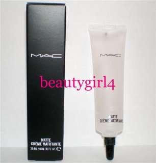 MAC Cosmetics Matte Mattifying Cream Foundation Base Oil Control nib