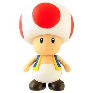 Nintendo Super Mario Bros. Sofubi DX Toad Figure Toys