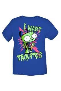 Invader Zim Gir Wants Taquitos T Shirt