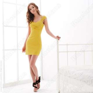Sexy Ladies Backless Mini Dress Slim Party Cocktail 3 Color