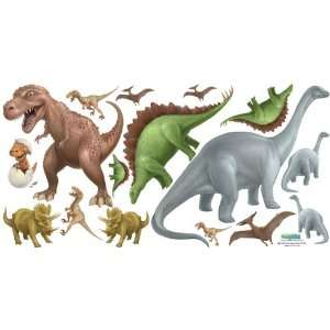 Dinosaur Wall Decals  Large Removable Peel & Stick Mural