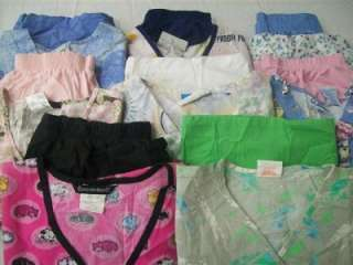 Medical Dental Scrubs Lot of 8 Printed Outfits Sets Size Small