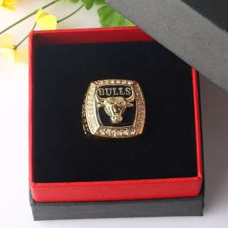 1x 1991 Chicago Bulls Michael Jordan Replica Champion Ring + Box XMAS