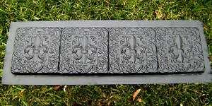 100 mil plastic edging paver bench multi purpose mold