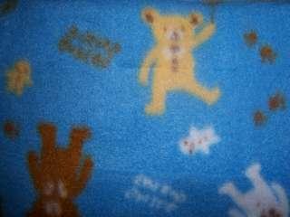 Mimos Fleece Receiving Blanket, Baby Shower, Diaper Cake, Monkey, Duck