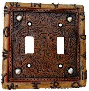 Decorative Kid Room  Western Brand Double Switch Plate