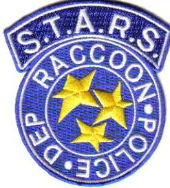 Resident Evil S.T.A.R.S. Raccoon Police Blue Logo Patch