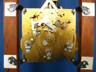 FRANZ HERMLE 351 050 H 85 cm MECHANICAL BRASS CHIME GRANDFATHER CLOCK