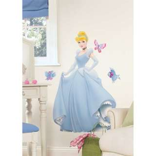 Wall Decals~Cinderella, Ariel, Belle,Tiana, Jasmine & More