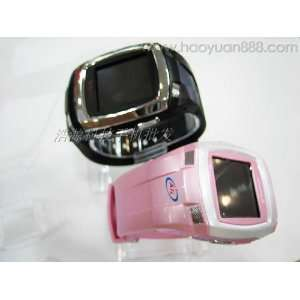 1.44 touch screen tri band watch phone with  , MP4