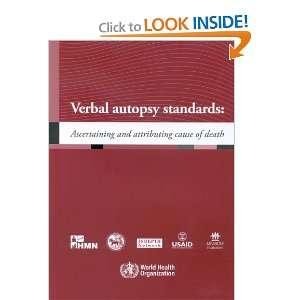 Verbal Autopsy (9789241547215): World Health Organization