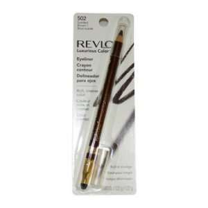 Eyeliner # 502 Sueded Brown by Revlon for Women   0.043 oz Eye Liner