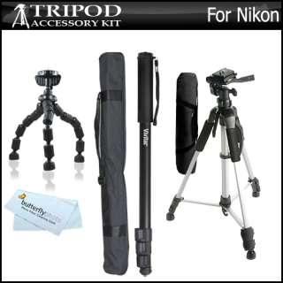 Accessory Bundle Kit For Nikon Coolpix P300 Digital Camera