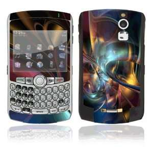 Space Art Decorative Skin Cover Decal Sticker for BlackBerry Curve