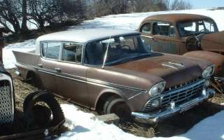 1958 1959 Rambler Custom Six sedan rat hot rod project