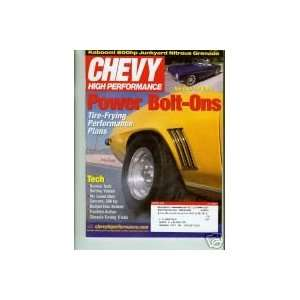 Chevy High Performance   March 2003 (Volume 18, Number 3): Jeff Smith