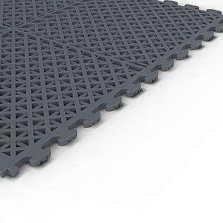 Gray PVC Multi Purpose Ventilated Garage Flooring  Craftsman Tools