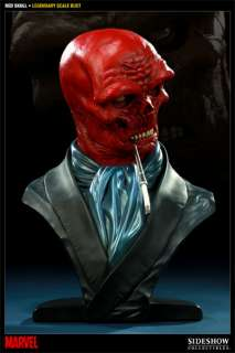Marvel Captain America Red Skull Legendary Scale Bust from Sideshow