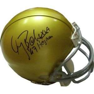 Gary Beban Autographed/Hand Signed UCLA Bruins Replica TB Mini Helmet