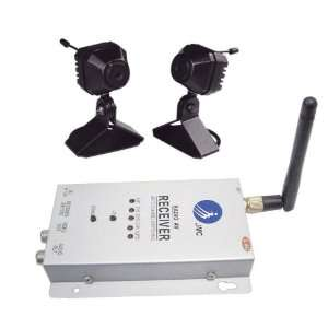 Wireless Pin Hole Security Camera System with Auto Scan Electronics