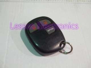 Audiovox BGA OE3B AVX01BT3CL3 Alarm Keyless Transmitter Remote