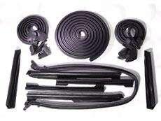 METRO Convertible Weatherstrip Kit Top Roof Door Trunk Rubber Seal Set