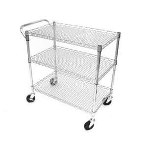 Heavy Duty Restaurant Stainless Steel Utility Bus Push Industrial