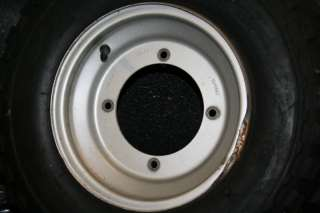 2005 Yamaha Blaster YFS200 Front Wheels Rims Tires OEM
