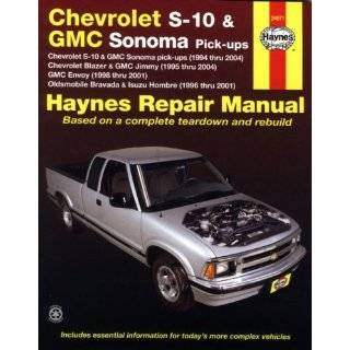 Haynes Chevrolet S 10 and GMC Sonoma Pick ups (94   04