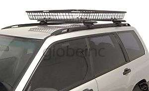 ROOF BASKET CARGO CARRIER RACK LUGGAGE CARTOP