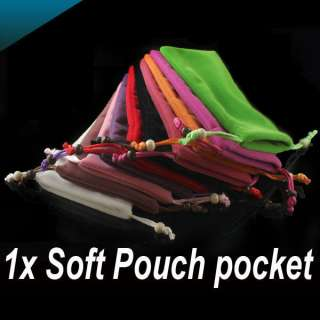 Velveteen Soft Pouch pocket Bag Case for Cell Phone /4 iPhone 4G