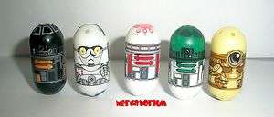 Star Wars Mighty Beanz 5 EXCLUSIVE DROIDS 82 83 84 85 86 FULL SET