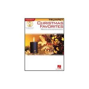 Hal Leonard Christmas Favorites (Trumpet) Book and CD