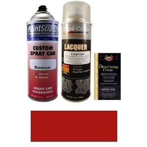 12.5 Oz. Toreador Red Pearl Metallic Spray Can Paint Kit