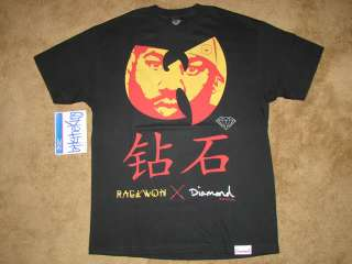 DIAMOND SUPPLY CO. RAEKWON T SHIRT L Wu Tang Supreme The Hundreds Wiz