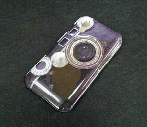 CAMERA LENS Hard Case Cover Shell For Samsung S5830 Galaxy Ace