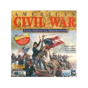 American Civil War From Sumter to Appomattax Software