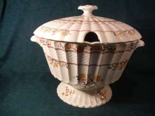 Copeland Spode Buttercup Large Soup Tureen Unusual Shape
