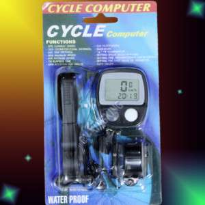 Bicycle Bike Cycling LCD SPEEDOMETER COMPUTER ODOMETER