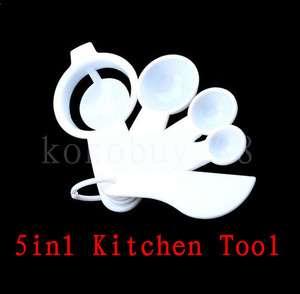 G3720 Kitchen Plastic Measuring Spoons Separator Leveli