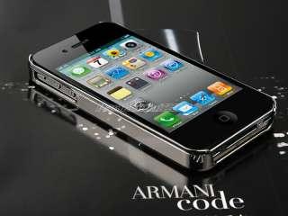 Steel Aluminum Chrome Hard Case Cover F Verizon Sprint iPhone 4S 4