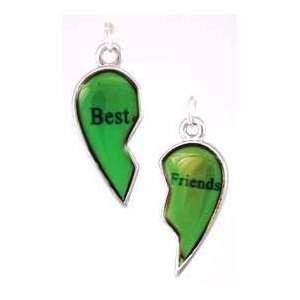 Best Friends Mood Pendant Necklace Charm Spiritual Amulet Womens Men
