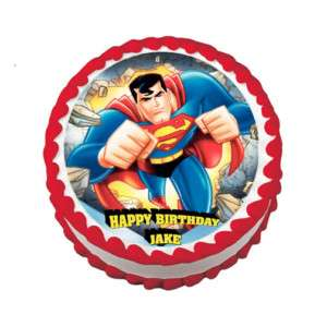 Superman Edible Cake Images : Edible Cake Transfer Sheets on PopScreen