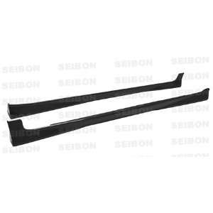 2007 2008 TOYOTA YARIS LIFTBACK   OEM Style Carbon Fiber SIDE SKIRTS