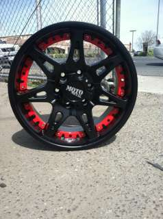 20 BLACK WHEELS TIRES 8X180 CHEVY GMC WITH 275 60 20 |